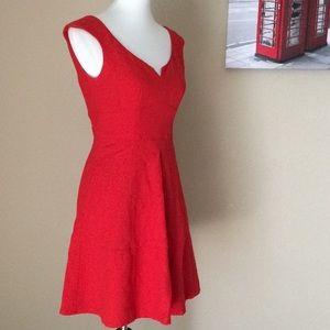 Nanette Lepore Bergdorf Goodman Red Dress